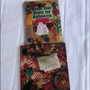 Vintage 1990's Halloween Christmas Craft Books (2)